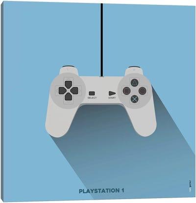 Joystick Playstation 1 Canvas Art Print