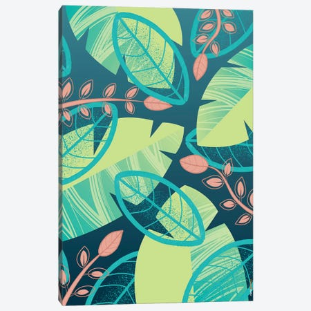 Floral Brazil I Canvas Print #RAF98} by Rafael Gomes Canvas Art Print