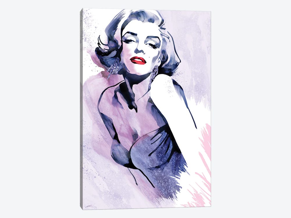 Marilyn's Pose by Ellie Rahim 1-piece Art Print