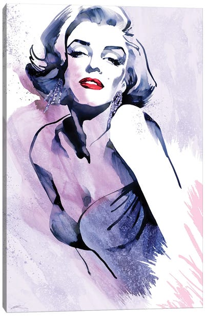 Marilyn's Pose Canvas Art Print