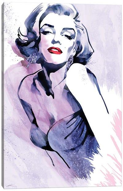 Marilyn's Pose Canvas Art Print
