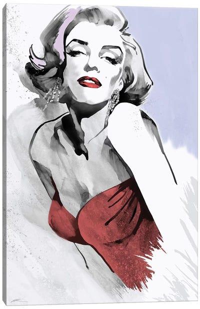 Marilyn Three Faces I Canvas Art Print