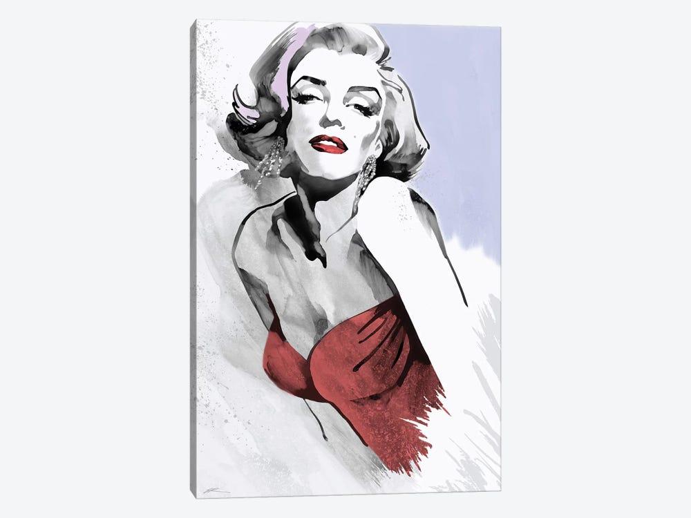 Marilyn Three Faces I by Ellie Rahim 1-piece Canvas Wall Art