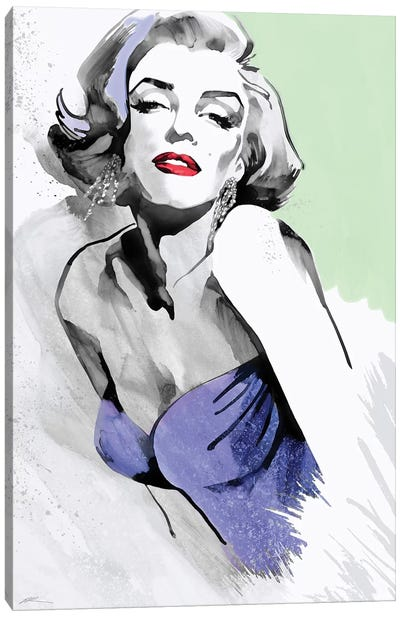 Marilyn Three Faces III Canvas Art Print