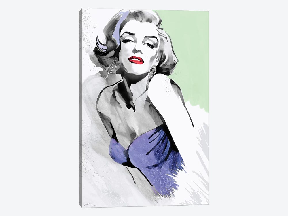 Marilyn Three Faces III by Ellie Rahim 1-piece Canvas Art