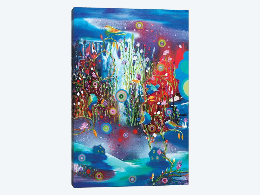 Night Falls In Love by Randi Antonsen 1-piece Canvas Wall Art