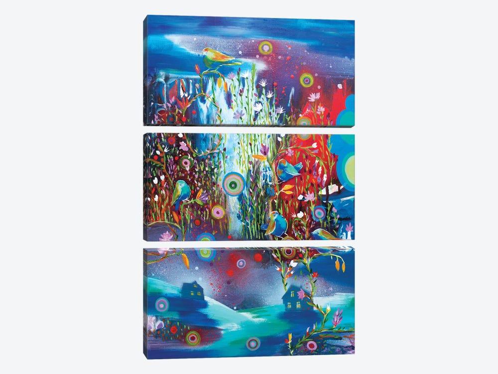 Night Falls In Love by Randi Antonsen 3-piece Canvas Art