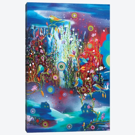 Night Falls In Love Canvas Print #RAN13} by Randi Antonsen Art Print