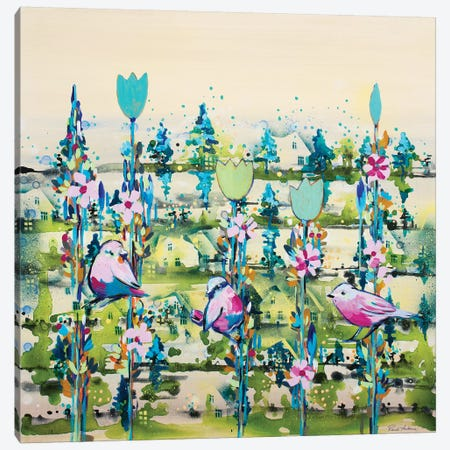 Summer Harmony Canvas Print #RAN17} by Randi Antonsen Canvas Wall Art