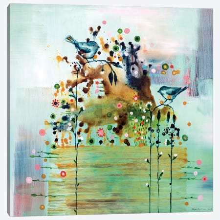 Sway Canvas Print #RAN18} by Randi Antonsen Art Print