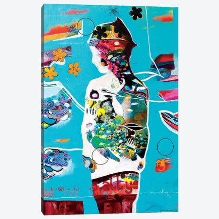 Apple Canvas Print #RAN23} by Randi Antonsen Canvas Art