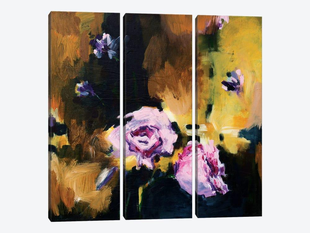 Golden by Randi Antonsen 3-piece Canvas Art Print