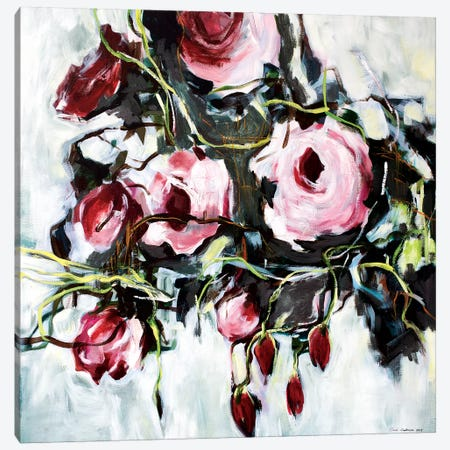 Savage Rose 3-Piece Canvas #RAN30} by Randi Antonsen Canvas Art Print