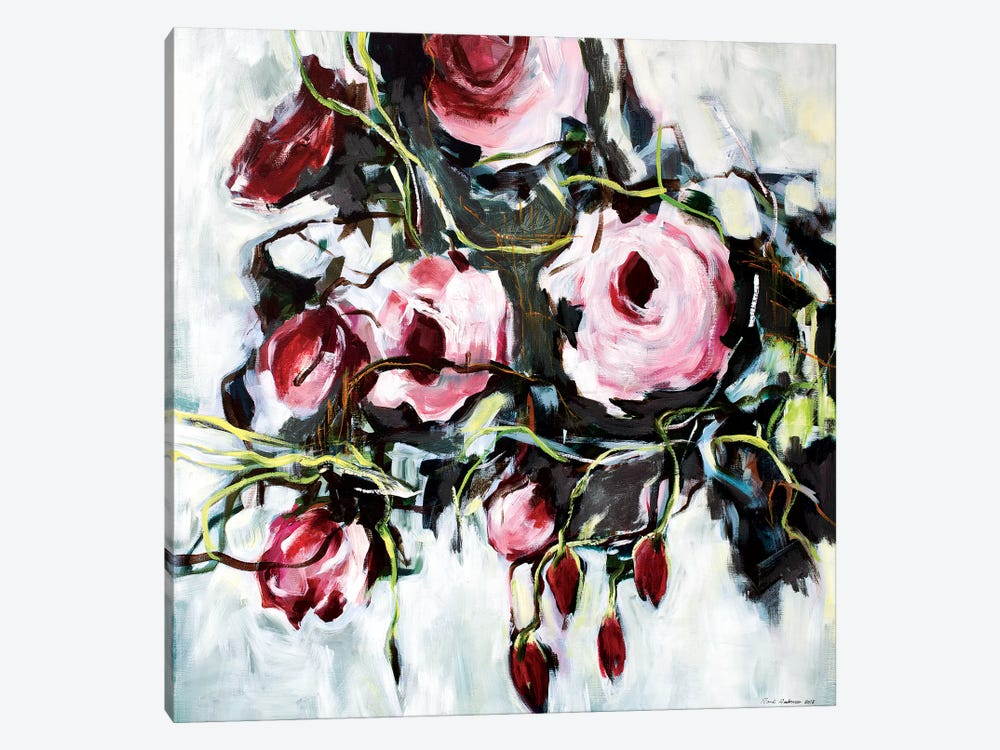 Savage Rose by Randi Antonsen 1-piece Canvas Print