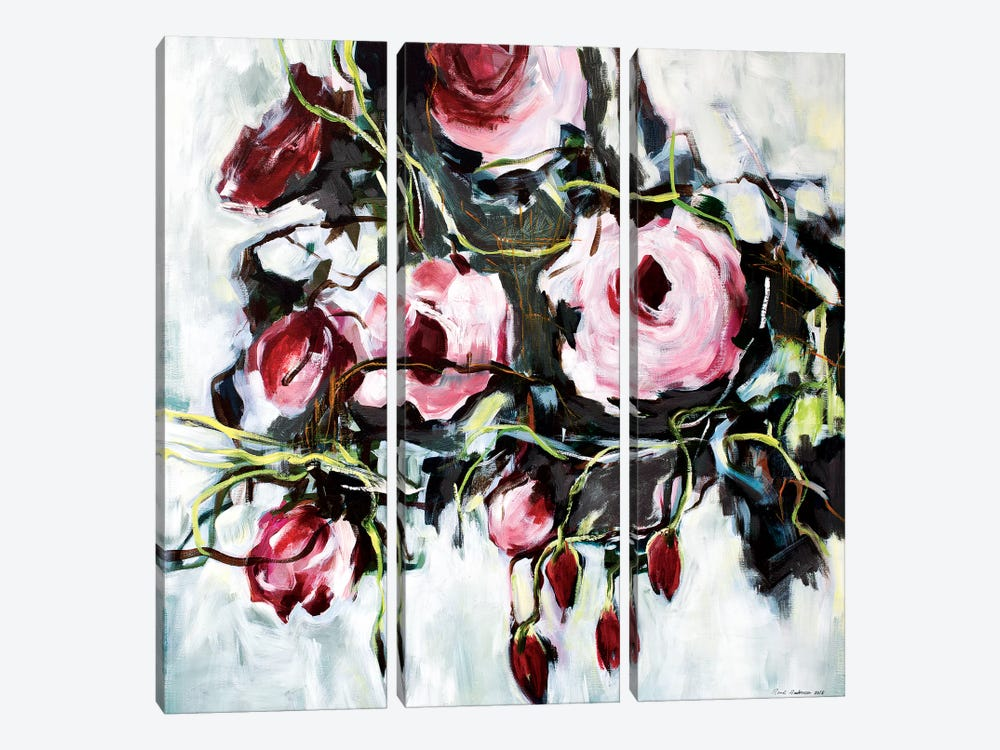 Savage Rose by Randi Antonsen 3-piece Art Print