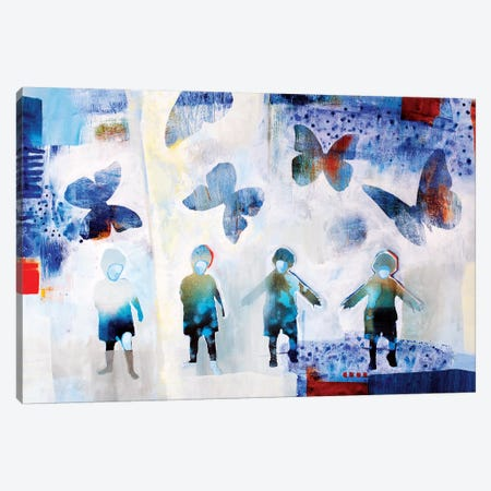 The Future 3-Piece Canvas #RAN33} by Randi Antonsen Art Print