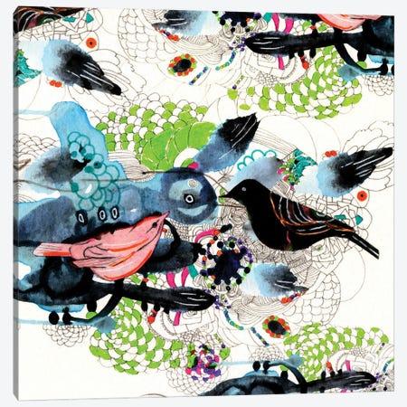 love is in the air Canvas Print #RAN57} by Randi Antonsen Canvas Artwork