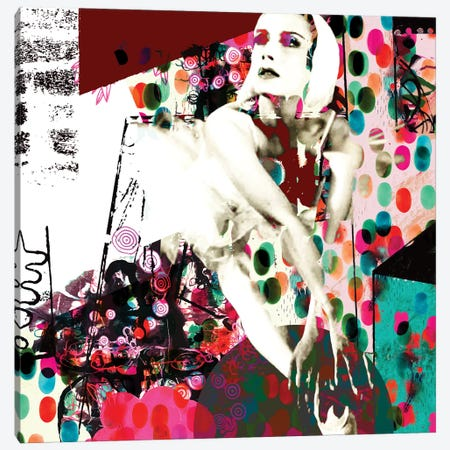 Dancer Canvas Print #RAN58} by Randi Antonsen Canvas Print