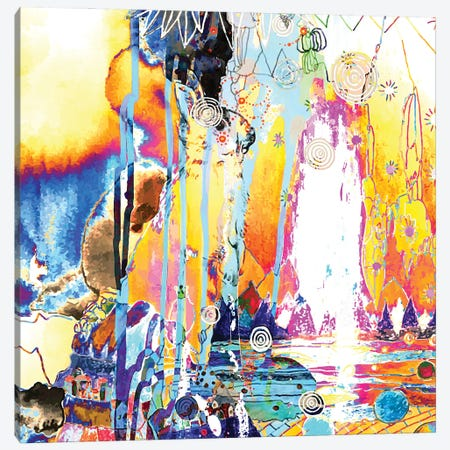 Golden Day Canvas Print #RAN60} by Randi Antonsen Canvas Artwork