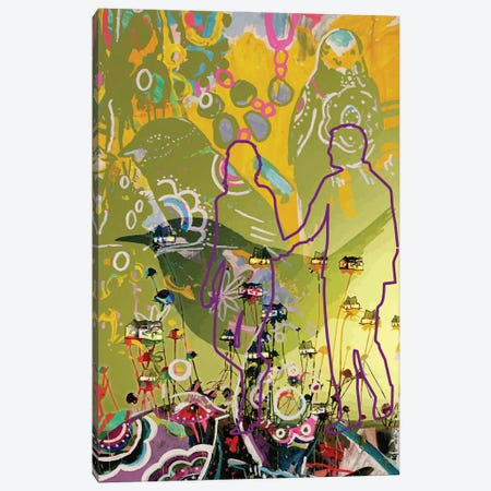 Yellow Canvas Print #RAN64} by Randi Antonsen Canvas Print