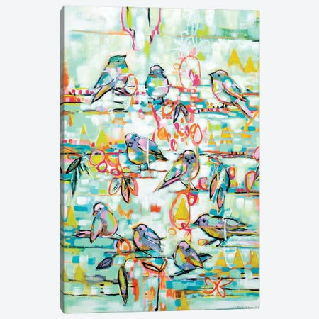 I Have A Dream Canvas Print #RAN6} by Randi Antonsen Art Print