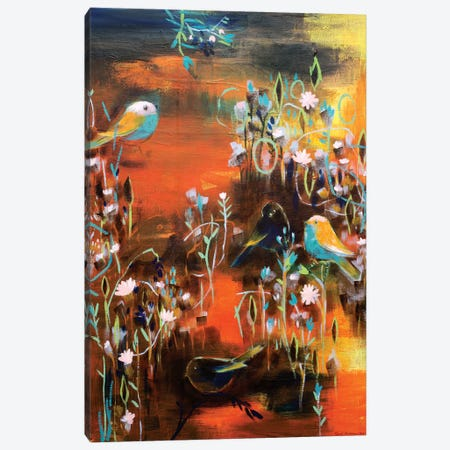 In The Small Forest I Found You Canvas Print #RAN8} by Randi Antonsen Canvas Artwork
