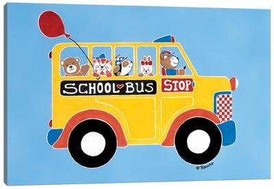 Off To School Canvas Print #RAS5