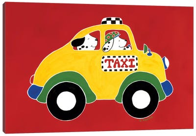 TAXI! Canvas Art Print