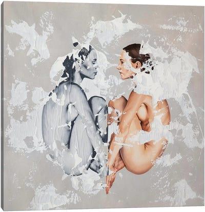 Poner Titulo Canvas Art Print
