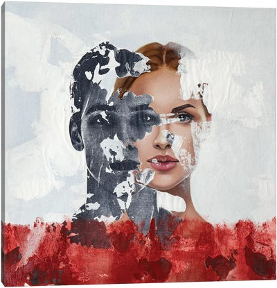 Faces Serie I Canvas Art Print