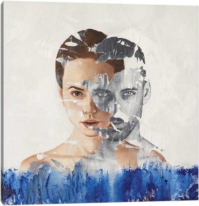 Faces Serie II Canvas Art Print