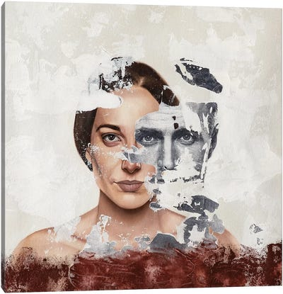 Faces Serie III Canvas Art Print