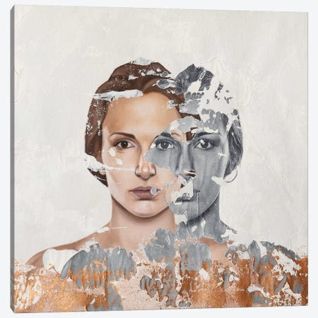 Faces Serie VI Canvas Print #RAU6} by Raúl Lara Art Print