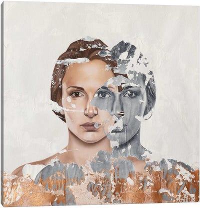 Faces Serie VI Canvas Art Print