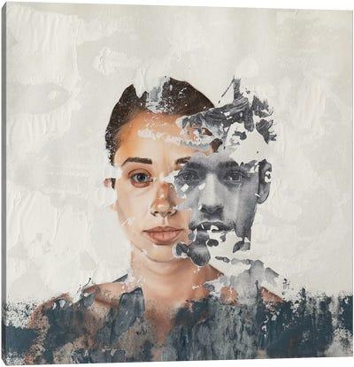 Faces Serie VII Canvas Art Print