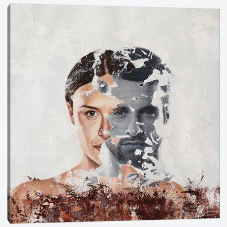 Faces Serie VIII Canvas Print #RAU8} by Raúl Lara Canvas Artwork