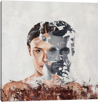 Faces Serie VIII Canvas Art Print