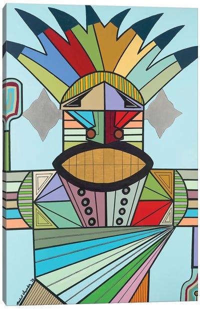 Jah Conqueror Canvas Art Print