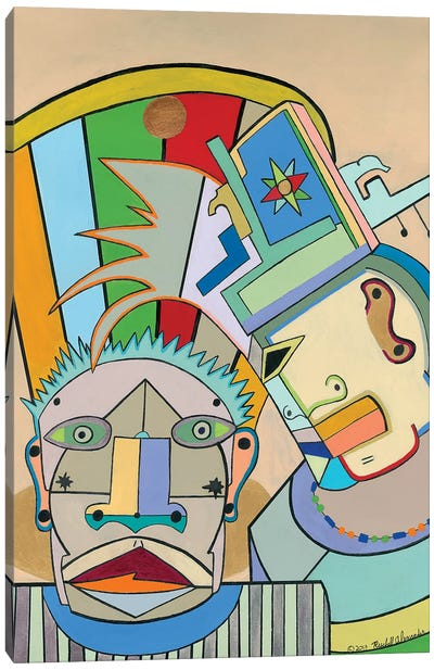 Senegal Scene Canvas Art Print
