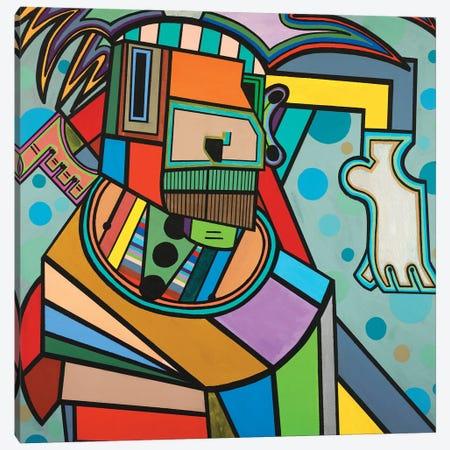 Yoga Canvas Print #RAX42} by Ruchell Alexander Canvas Artwork