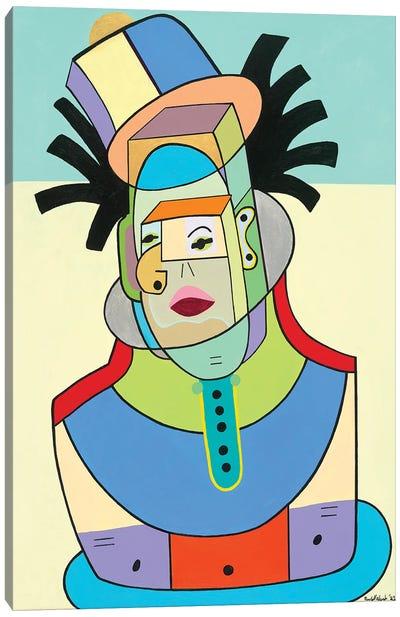 Dreadlocks Man: Robert Alexander Canvas Art Print