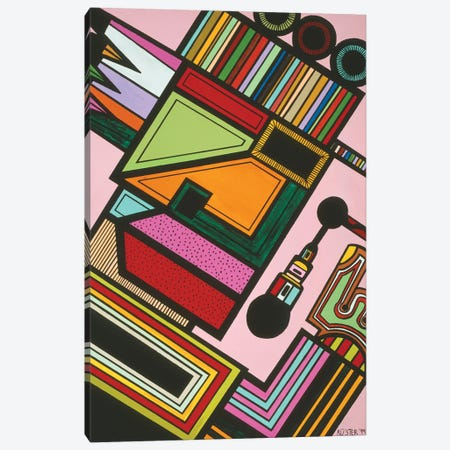 Johnny P Canvas Print #RAX4} by Ruchell Alexander Canvas Wall Art
