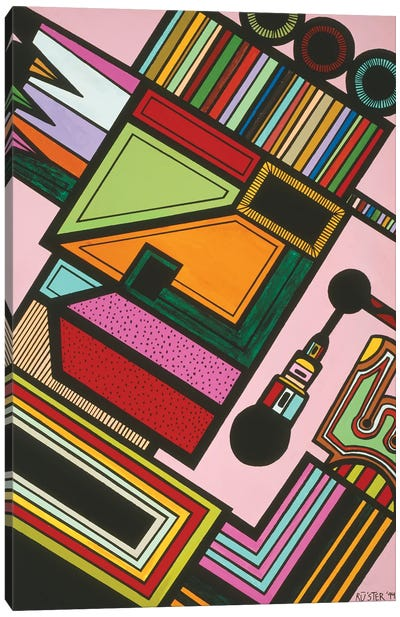 Johnny P Canvas Art Print