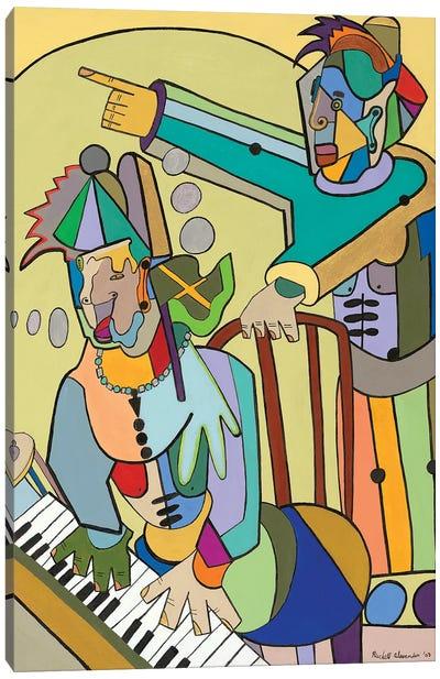 Ragtime Scene Canvas Art Print