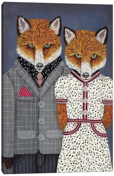 Mr. and Mrs. Nashville Canvas Art Print