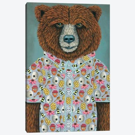 Barry's Honey Shirt Canvas Print #RAY18} by Marisa Ray Canvas Art