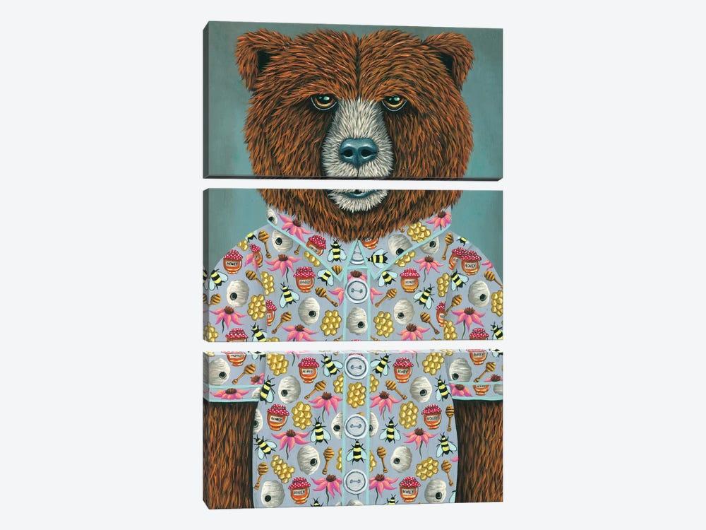 Barry's Honey Shirt by Marisa Ray 3-piece Art Print