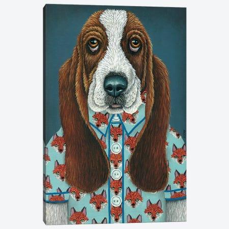 Barney's Fox Shirt Canvas Print #RAY1} by Marisa Ray Canvas Wall Art