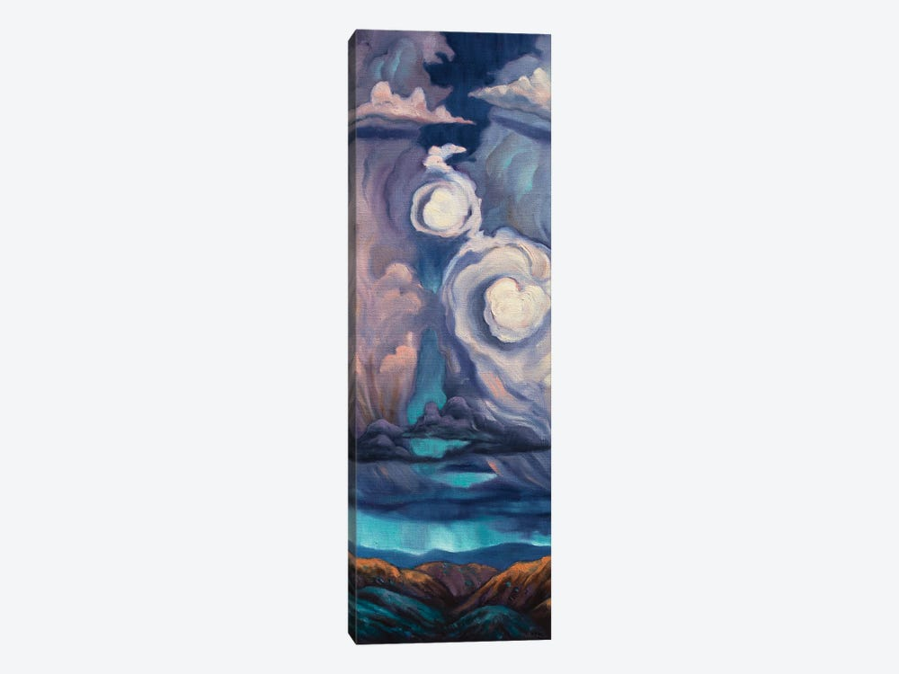 Heart Of The Storm by Rebecca Baldwin 1-piece Canvas Print