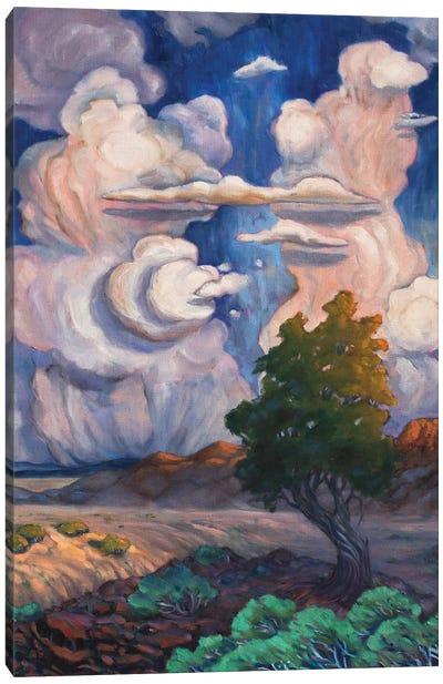 Desert Cloudscape Canvas Art Print